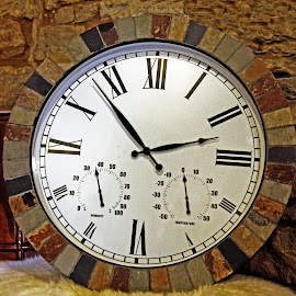 Combined clock by Michael Moore - Artistic Objects Other Objects ( clock, time piece,  )