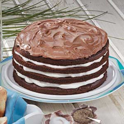 Chocolate Cream Torte
