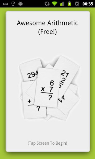 Awesome Arithmetic Free