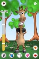 Screenshot of Talking Gina the Giraffe
