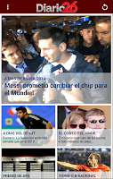 Screenshot of Diario 26