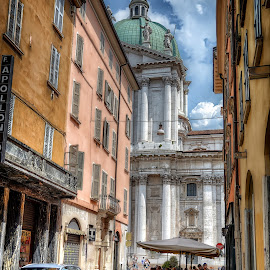 Brescia by Cristian Peša - City,  Street & Park  Street Scenes