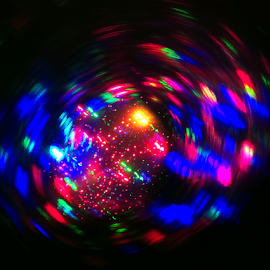 Another world ! by Jim Barton - Abstract Patterns ( laser light, another world, colorful, light design, laser design, laser, laser light show, light, world, science )