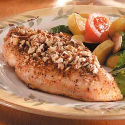 Honey-Pecan Chicken Breasts