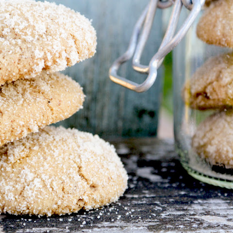 Maple Ginger Snaps