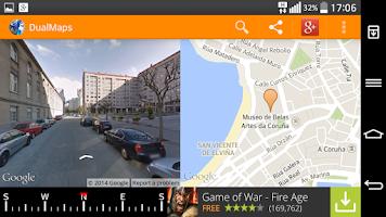 Screenshot of DualMaps