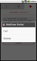 Screenshot of Medic SOS Pro