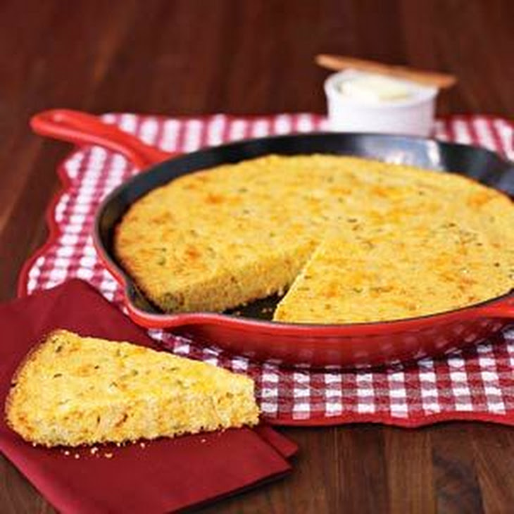 Jalapeño-Cheddar Corn Bread Recept | Yummly