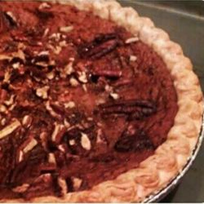 Honey Pecan Pumpkin Pie