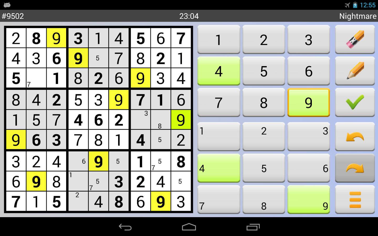 Sudoku Grab'n'Play Plus Screenshot 11
