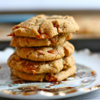 Chewy Caramel Apple Chip Cookies