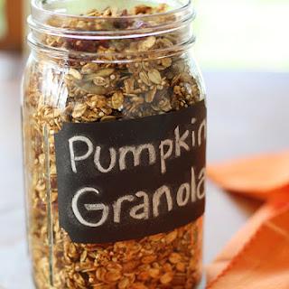 Pumpkin Flax Granola Recipes