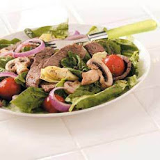 Artichoke Steak Salad