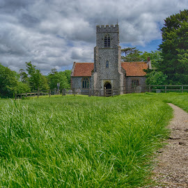 Farleigh Wallop Church by Darren Darkhaunter - Buildings & Architecture Places of Worship ( history, england, old, church, farleigh wallop, worship, hampshire )