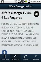 Screenshot of Alfa y Omega tv 44-4 tv