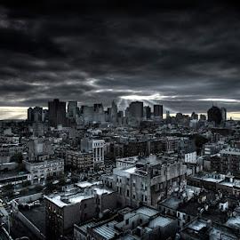 New York I Love You by Kim Erlandsen - City,  Street & Park  Skylines ( skyline, sky, skyscraper, rivington, nyc, Urban, City, Lifestyle )