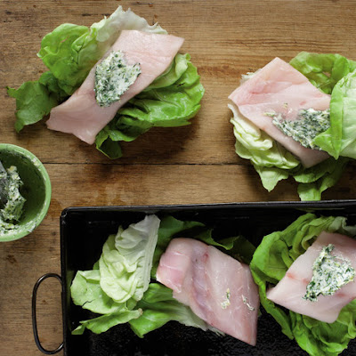 Fish Wrapped in Lettuce From 'The Beekman 1802 Heirloom Vegetable Cookbook'