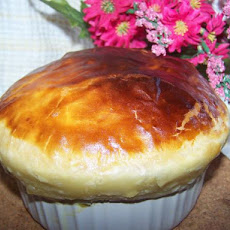Cheese, Onion, Leek & Potato Pie