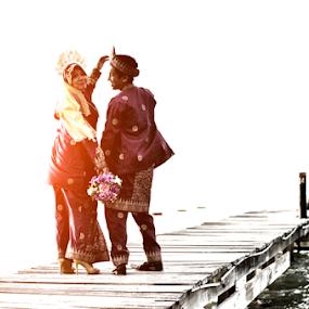 Our Love by Iz Fotografi Art Works - Wedding Bride & Groom ( melayu, tun, kawin, malay, nikah, malaysia, iz fotografi, perkahwinan, malimatul urus, izmir, tun izmir )