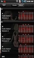 Screenshot of Pocket Jamz Guitar Tabs Lite