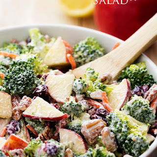 Broccoli Apple Salad Recipes