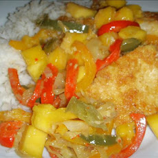 Island Chicken With Mango