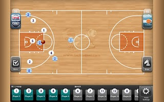 Screenshot of TacticalPad Basketball Pro