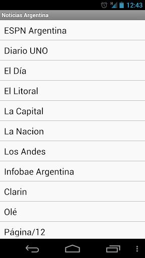 Argentinian News