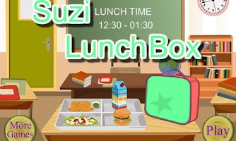 Screenshot of School Lunch - Food Maker