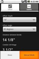 Screenshot of Electrical Conduit Bender Pro