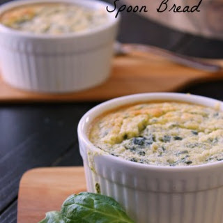 Spinach Artichoke Spoon Bread