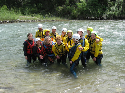 Funny end of the rafting 01