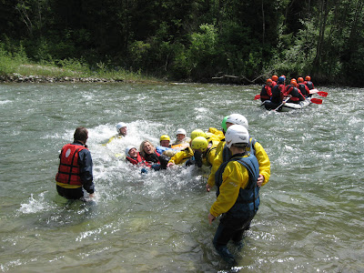 Funny end of the rafting 03