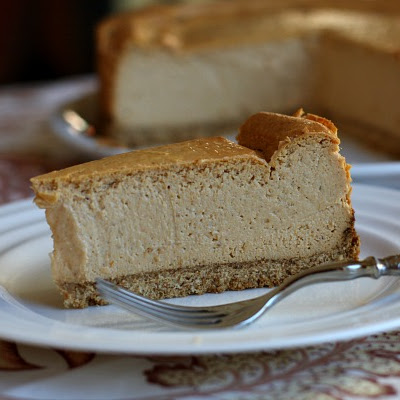 Low Fat Pumpkin Cheesecake