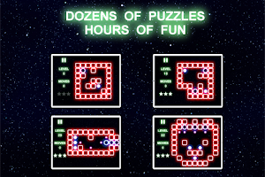 Screenshot of Super Glow Puzzle