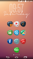 Screenshot of Pebbles HD Apex Nova Holo Adw