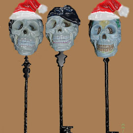 the three skeleton keys by JM McCormack - Abstract Macro