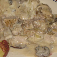 Pork Chops Smothered in Cream of Mushroom