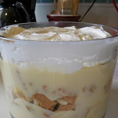 Nutter Butter Banana Pudding Trifle (No Shortcut!)