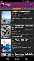 Screenshot of Cineguía