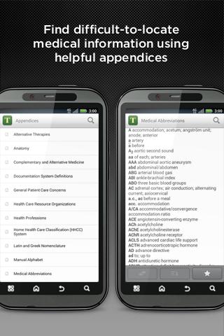 Tabers Medical Dictionary... - screenshot