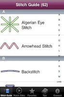 Screenshot of Embroidery Stitch Tool, Vol. 1