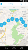Screenshot of Locate by MapmyIndia