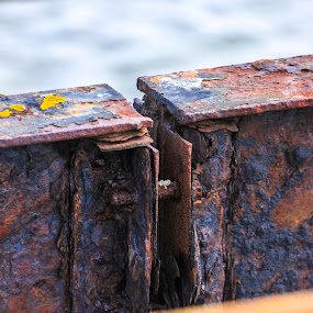 Rustic by Malcolm Duke - Artistic Objects Other Objects ( canon, uk, england, pier, rust,  )