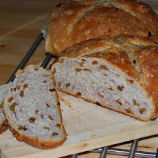 Sourdough Raisin Walnut Bread (Abm)