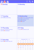 Screenshot of To-Do Calendar Planner