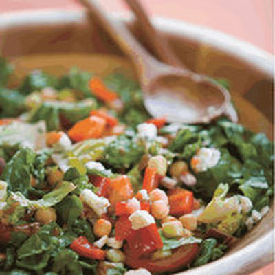 Chop-Chop with Spicy French Dressing