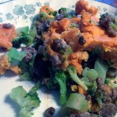 Sweet Potato & Broccoli Shepard's Pie