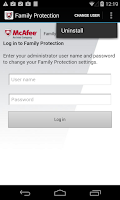 Screenshot of McAfee Family Protection