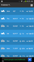 Screenshot of Motorcycle Weather